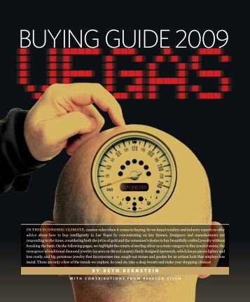 BUYING GUIDE 2009