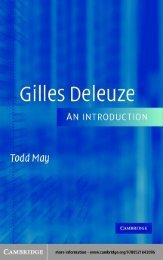 Gilles Deleuze An Introduction.pdf - Archivo