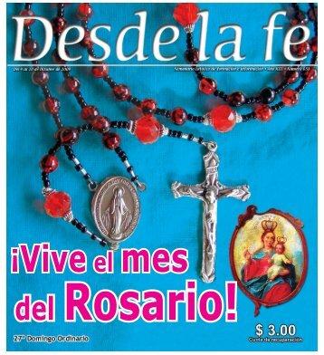 ¡Vive el mes del Rosario!