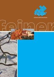 Katalog 2012 - Feiner Betonwerk GmbH & Co. KG