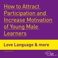 How to Attract Participation and Increase Motivation of Young Male ...