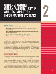 Understanding Organizational Style and Its Impact on ... - Pearson