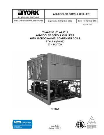 Air cooled mcquay air cooled scroll chillers mcquay air cooled scroll chillers swarovskicordoba Image collections