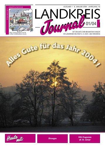 Amtliche Mitteilungen des Landkreises Neustadt ad Aisch