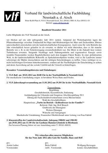 VlF-NEA-Rundbrief Dezember 2011x - Verband für ...