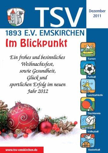 Im Blickpunkt - TSV Emskirchen