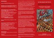Flyer zur Veranstaltungsreihe - VVN/BdA NRW