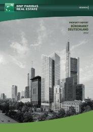Property Report Büromarkt Deutschland 2012 - Industrie- und ...