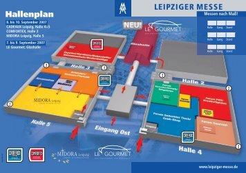 Hallenplan - Leipziger Buchmesse