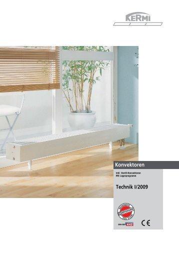 konvektoren technik i 2009 kermi gmbh. Black Bedroom Furniture Sets. Home Design Ideas