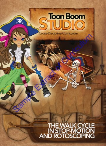 Studio - The Walk Cycle in Stop-Motion and Rotoscoping - Sample