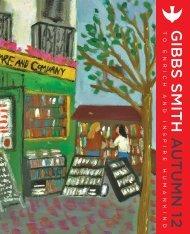 Autumn 2012 Catalog - Gibbs Smith