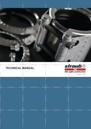 technical manual - Easier Pipe Joining With Straub