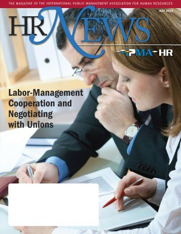 July 2011 issue of HR News magazine - IPMA