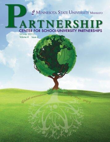 Winter 2012 Partnership Magazine - College of Education Home ...