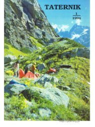 Taternik 1 1994 - Polski Związek Alpinizmu