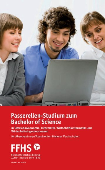 Passerellen-Studium zum Bachelor of Science