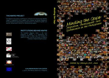 (ed.), Minding the Gap - Scalabrini Migration Center