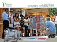 Community involvement 2010 - MIT Lincoln Laboratory