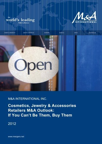 Cosmetics, Jewelry & Accessories Retailers M&A Outlook: If You ...