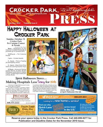 Happy Halloween at Crocker Park - The Villager Newspaper