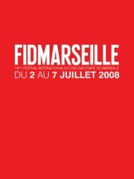 catalogue 2008 in .pdf - Festival international du documentaire de ...