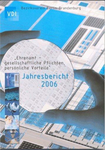 Der Bericht 2006 - VDI