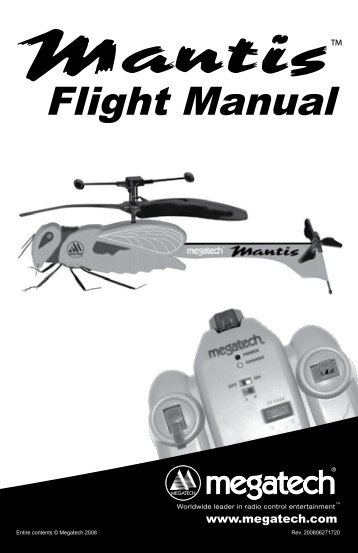 flight manual high definition radio control. Black Bedroom Furniture Sets. Home Design Ideas