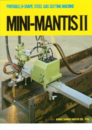 MINI MANTISII - Sveiseeksperten