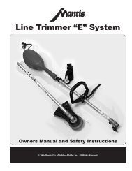 331704 Line Trimmer.qxd - Mantis