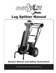 510700 Swift Split Manual - Mantis