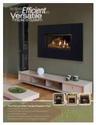 Fireplace System - Butterfly Energy Works