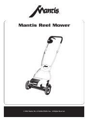Mantis Reel Mower