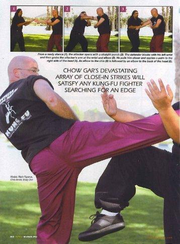 CHOW GAR'S DEVASTATING - Shen Martial Arts