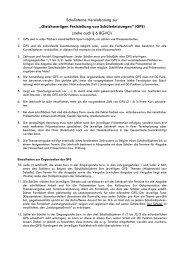 GFS - Neue Regelungen - Kaufmännische Schulen 1