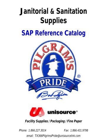 Janitorial & Sanitation Supplies - Unisource Link E-Commerce