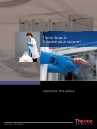 Thermo Scientific Cryopreservation Equipment - TekniScience.com