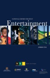 Entertainment Export Strategy - Jamaica Trade and Invest