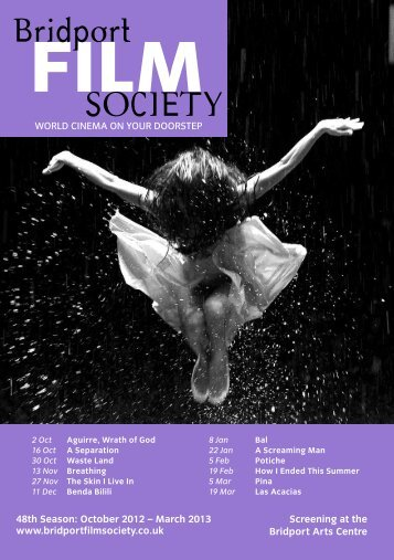 Programme - Bridport Film Society