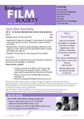 Programme - Bridport Film Society - Page 2