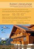 Literaturtage Aeschiried - Ferienzentrum Aeschiried - Seite 4