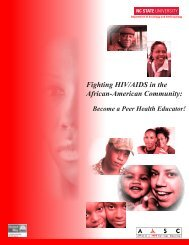 Fighting HIV/AIDS in the African-American Community: Become a ...