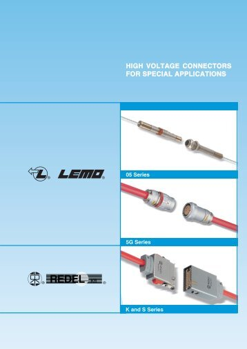 K and S Series Connectors - Lemo