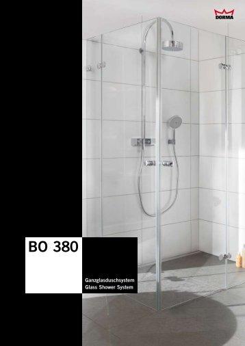 Duschsystem BO 380 - auf Wunsch mit