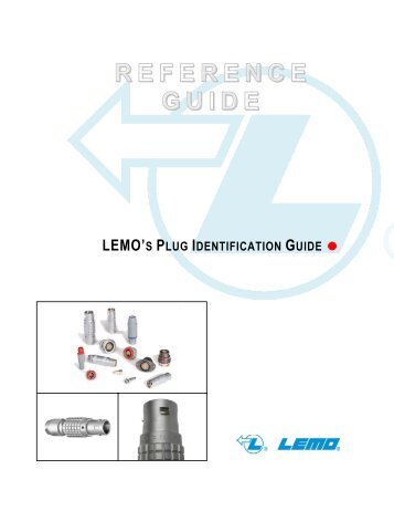 Plug Identification Guide - Lemo