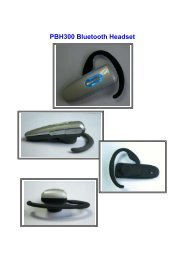 PBH300 Bluetooth Headset
