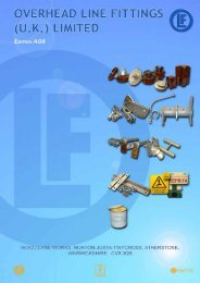 Download Conductor Accessories Range Catalogue - pdf