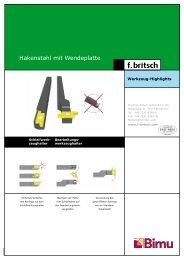 Hakenstahl mit Wendeplatte - Friedrich Britsch GmbH & Co. KG