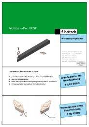 Multiturn-Dec VPGT - Friedrich Britsch GmbH & Co. KG