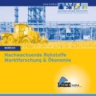 Nachwachsende Rohstoffe Marktforschung & Ökonomie - AVK